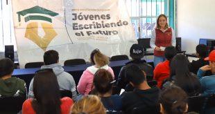 Gobierno de México lleva becas Benito Juárez a estudiantes de la Universidad para el Bienestar en Mazapil