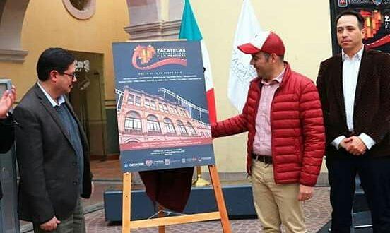 Festival Internacional de Cine de Zacatecas, ventana de oportunidad para promover nuestro destino: Ulises Mejía Haro