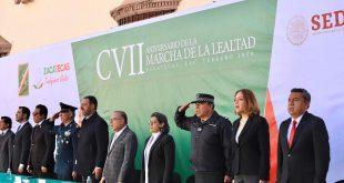 Reconoce Gobierno de México la lealtad de las fuerzas armadas a las instituciones: Verónica Díaz Robles