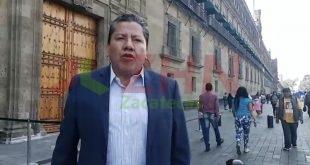David Monreal asistió al CVII Aniversario Luctuoso de Francisco I. Madero y José Maria Pino Suárez (Video)