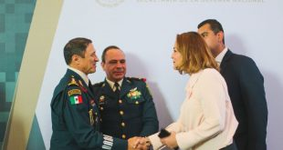 Reconoce delegada de Programas para el Desarrollo, Verónica Díaz, al Ejército Mexicano