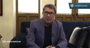 Postura de Ricardo Monreal sobre caravanas de automóviles anti AMLO (Video)