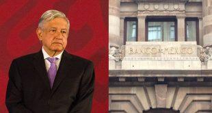 AMLO no coincide con proyección de Banxico sobre caída en la economía