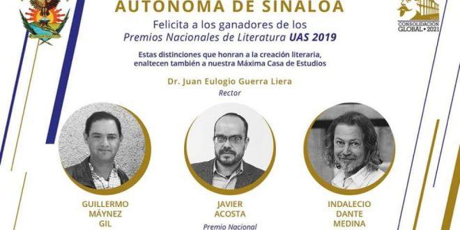 Poeta zacatecano gana Premio Nacional de Literatura en Sinaloa (Video)