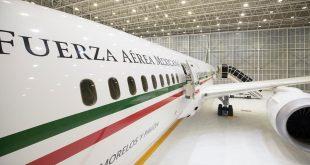 Conferencia frente al avión presidencial muestra lujos de gobiernos neoliberales: presidente; avanza venta de aeronave y de boletos de la Lotería