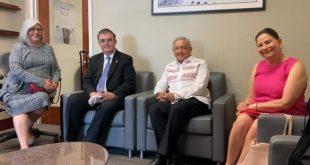 Presidente regresa a México tras gira de trabajo por T-MEC (Video)