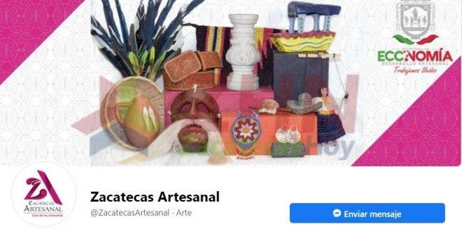 """En apoyo a creadores locales, abre Gobierno Estatal tienda """"Zacatecas Artesanal en Línea"""""""