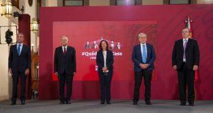 Presidente anuncia producción de vacuna contra COVID-19 en México; acceso será gratuito y universal