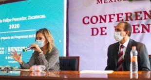 Hicimos lo correcto en mantener la entrega de apoyos directos a la población: Verónica Díaz (Video)