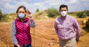 Inicia la construcción del Banco del Bienestar en Tacoaleche; beneficiará a 7 mil personas: Verónica Díaz Robles