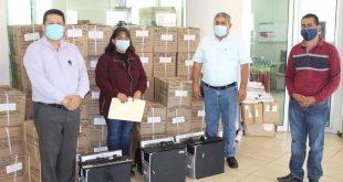 Entregan a 4 bibliotecas computadoras donadas por SEFIN e INEGI