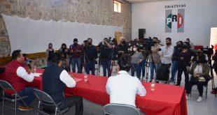 Ofrece Enrique Flores unidad, respeto a la militancia y mucho trabajo en el PRI