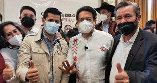 Porfirio Muñoz Ledo es un buen hombre: Mario Delgado en Zacatecas