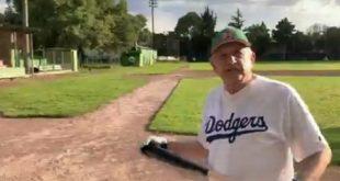 Mañana comienza la Serie Mundial. Obvio, me refiero al béisbol, pelota caliente. Voy Dodgers de Los Ángeles: AMLO (Video)