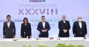 Convoca Alejandro Moreno a impulsar el consenso de Copppal 2020, para construir una patria grande