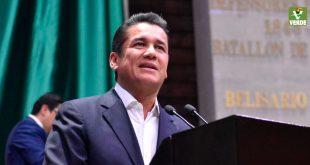 El zacatecano Carlos Puente deja el PVEM y por primera vez en su historia, será dirigido por una mujer (Video)