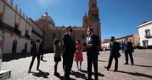 Visita Zacatecas Embajador de Estados Unidos en México, Christopher Landau