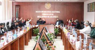 Aprueba consejo local del INE en Zacatecas la integración de Consejos Distritales