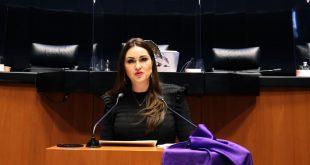 Solicita Geovanna Bañuelos que el Senado de la República condene feminicidio de Sofía y violencia contra mujeres y niñas