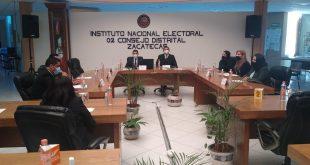 Inician funciones los Consejos Distritales del INE en Zacatecas