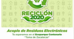 Del 7 al 18 de diciembre, Reciclón 2020