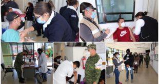 Exitoso programa de vacunación contra Covid-19 aplicado por el Gobierno Federal en Zacatecas