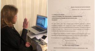 Tere Villegas contenderá por la Rectoría de la UAZ