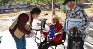 Don Víctor tiene casi 100 años y es beneficiario de la Pensión Para el Bienestar