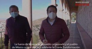 Con el respaldo nacional de MORENA y arropado por los alcaldes de Zacatecas David Monreal se perfila a gobernar el Estado (Video)