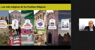 Presentan programa de Capital Americana de la Cultura 2021 a migrantes zacatecanos