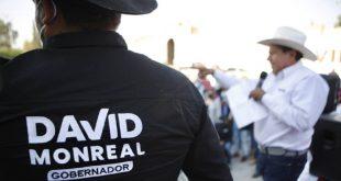 Pinos va a tener gobernador: David Monreal Ávila
