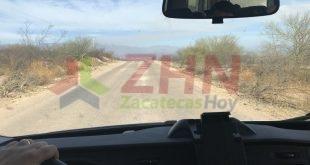Aislados en medio de la sierra Zacatecana