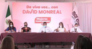 De viva voz con David Monreal: Mujeres Transformando la Historia (En Vivo)