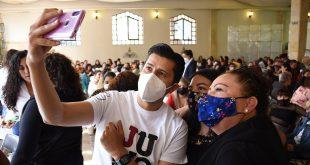 Con cientos de mujeres guadalupenses celebra Julio César Chávez día de las madres