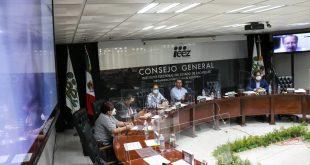 Clausura IEEZ sesión especial de cómputo de las elecciones de los Consejos Distritales y Municipales