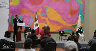 Entregan apoyos a 70 migrantes de Zacatecas deportados y repatriados