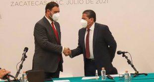 Proceso de entrega-recepción será objetivo, ordenado y acorde a la legalidad para avanzar hacia la transformación de Zacatecas: garantiza David Monreal