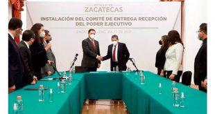 Comienza la transición en Zacatecas