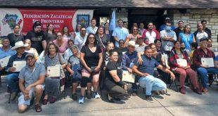 Zacatecanos migrantes, ejemplo del trabajo comunitario en EU