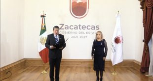 Nombra Gobernador David Monreal a tres zacatecanas al frente de la Secretarías y subsecretarias de Educación y Turismo