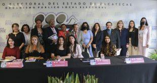 Sin la plena participación de las mujeres en la vida pública, no habrá una verdadera democracia: IEEZ