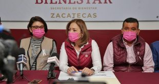 En Zacatecas más de 118 mil adultos mayores reciben Pensión para el Bienestar: Verónica Díaz Robles