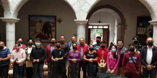 Descentraliza Gobierno de Zacatecas bienes y servicios culturales, con programa de formación permanente